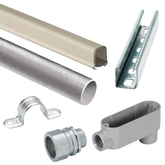 Conduit, Raceway, Strut & Fittings