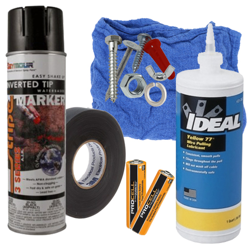 Fasteners, Adhesives & Paints