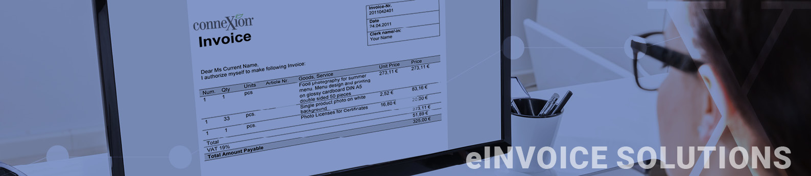 Connexion electronic invoice solutions
