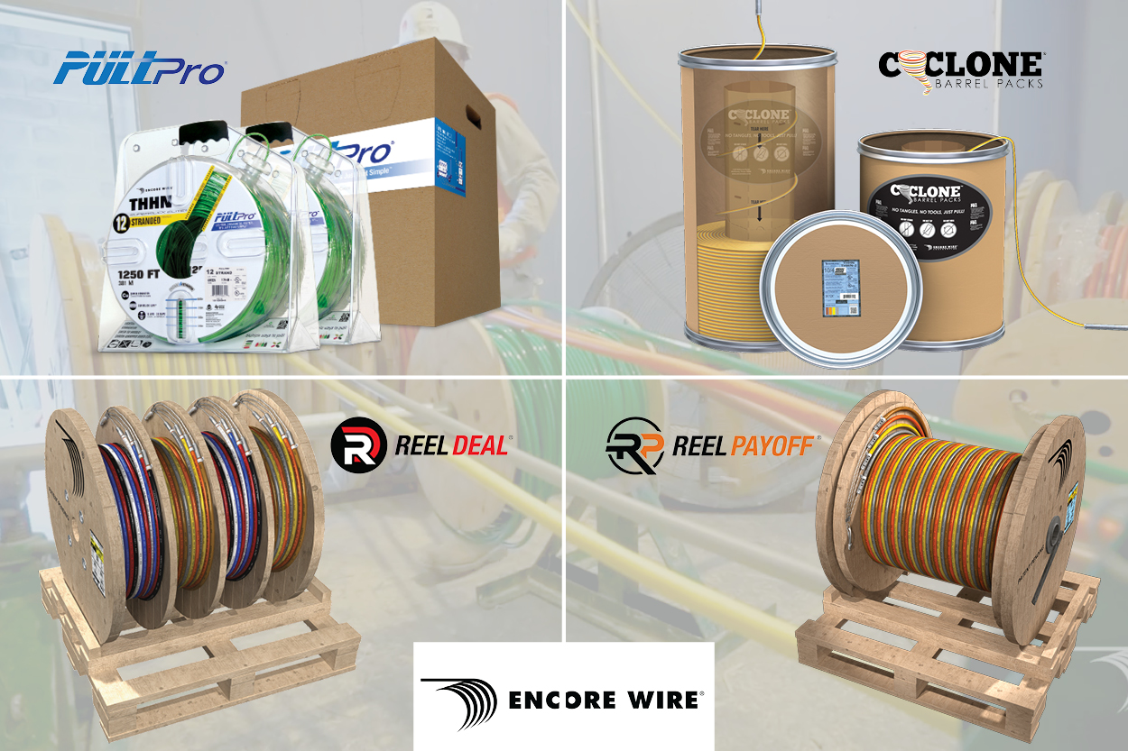 Encore PullPro, Cyclone, Reel Deal, Reel Payoff