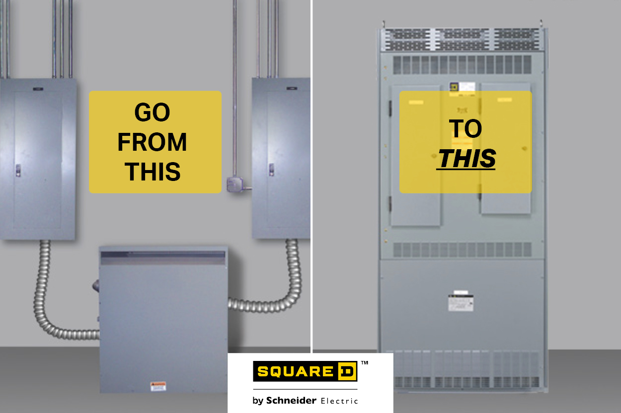 Square D Integrated Power Center 2