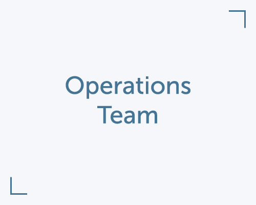 Meet our Operations Team
