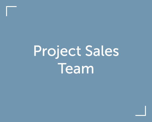 Meet our Project Sales Team