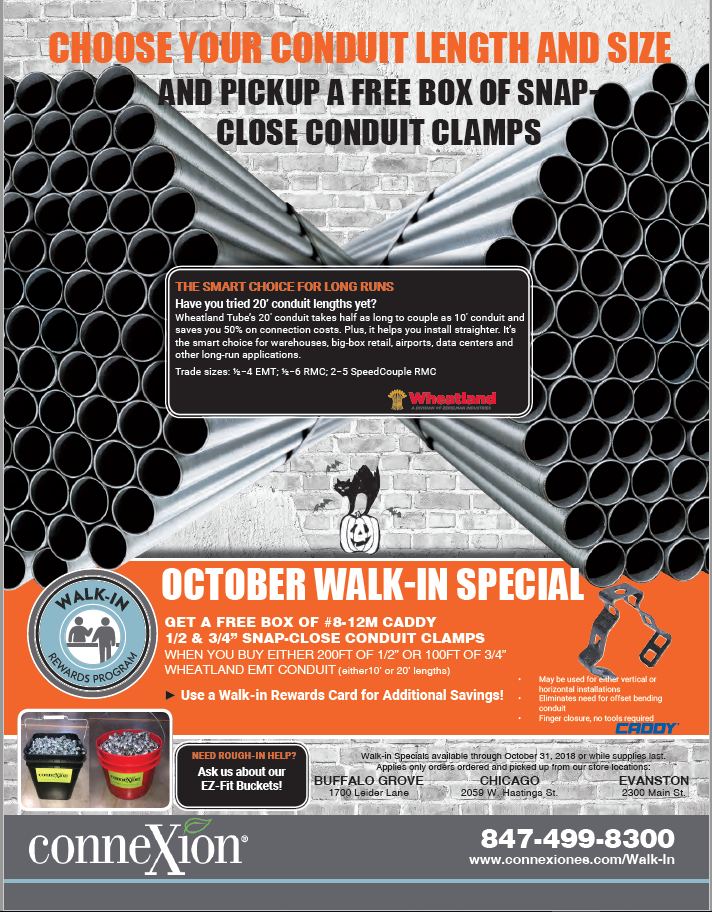 Download the October Walk-in Special