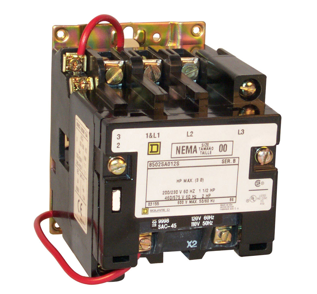 Square D Lighting and Motor Contactors