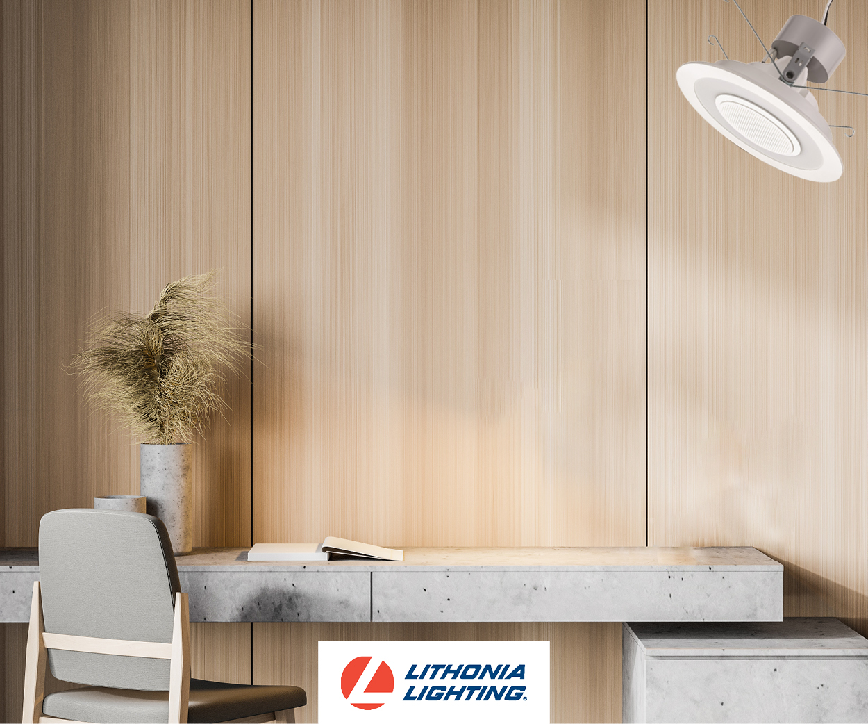 Lithonia 6SL Wireless Speaker Downlights