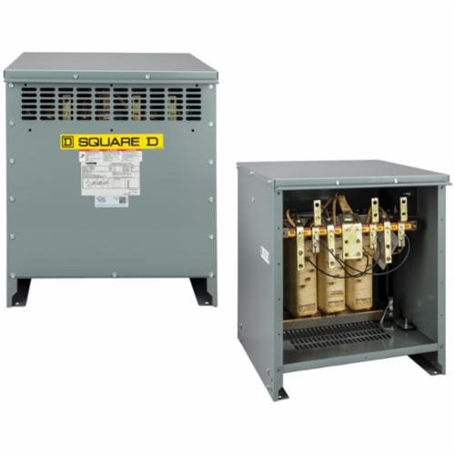 Square D™ Three Phase Low Voltage Distribution Transformer