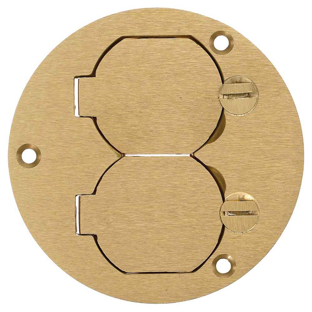 Round Floor Box Cover Connexion Hubbell Wiring Catalog Device Kellems S3925