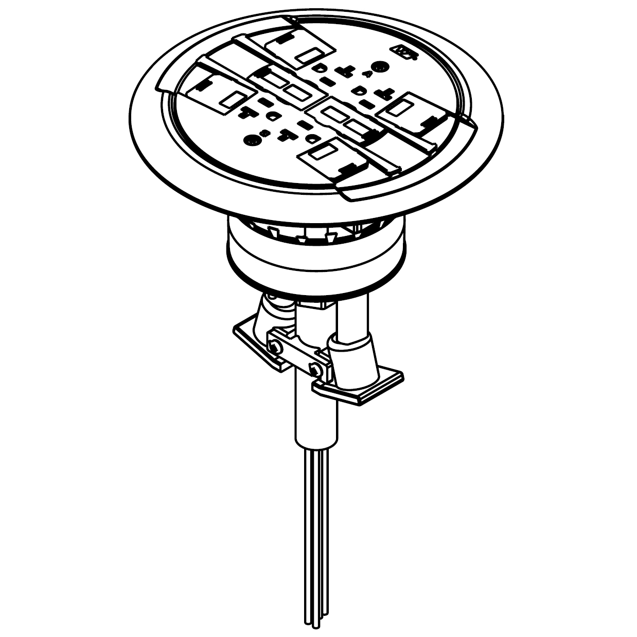 Wiremold® RC4ATCBK-LJB | Connexion