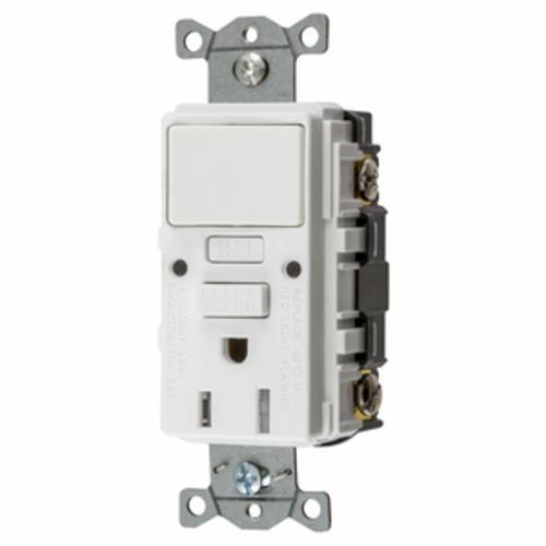 Hubbell Wiring Device-Kellems GFSPST15W
