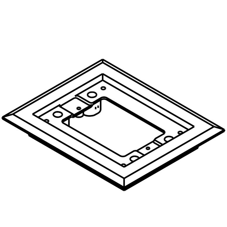 Wiremold® 817PCC-BLK