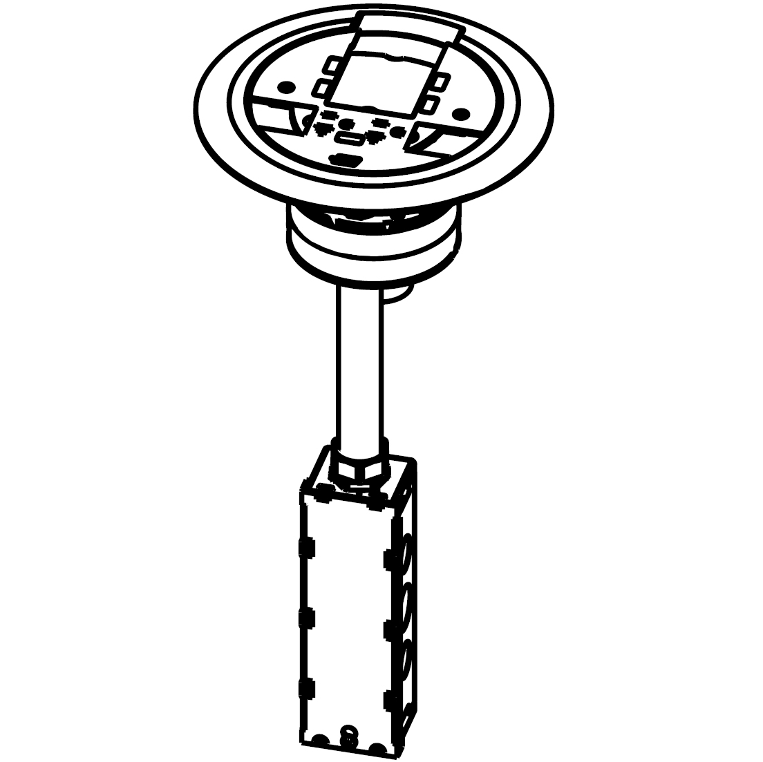 Wiremold® AV3ATCBK | Connexion