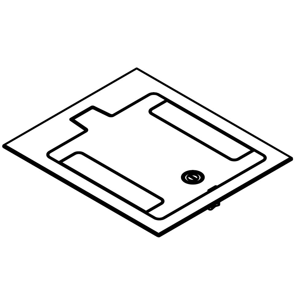 Wiremold® RFB119BTCGY