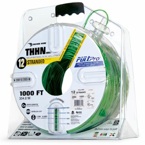Encore Wire THHN-CU-10-STR-GRN-1000FT-PP